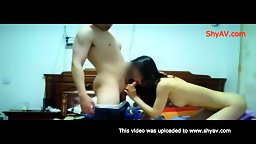 My Chinese Husband Enjoys My Blowjob