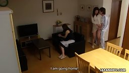 Nanako Misaki wants to quit but she ends up getting fucked hard English Subbed