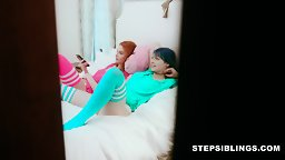 Stepsisters want Stepbros D ft. Lacy Lennon & Jewelz - HD